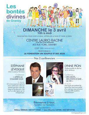 Bontés Divines Granby affiche pour le 3 avril 2016.jpg