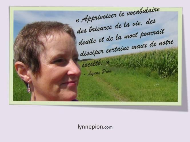 citation Lynne Pion Deuil-Vie-Résilience