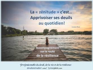 Deuil animalier résilience Lynne Pion