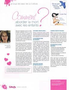 tiré du Magazine La Culbute février-mars 2012