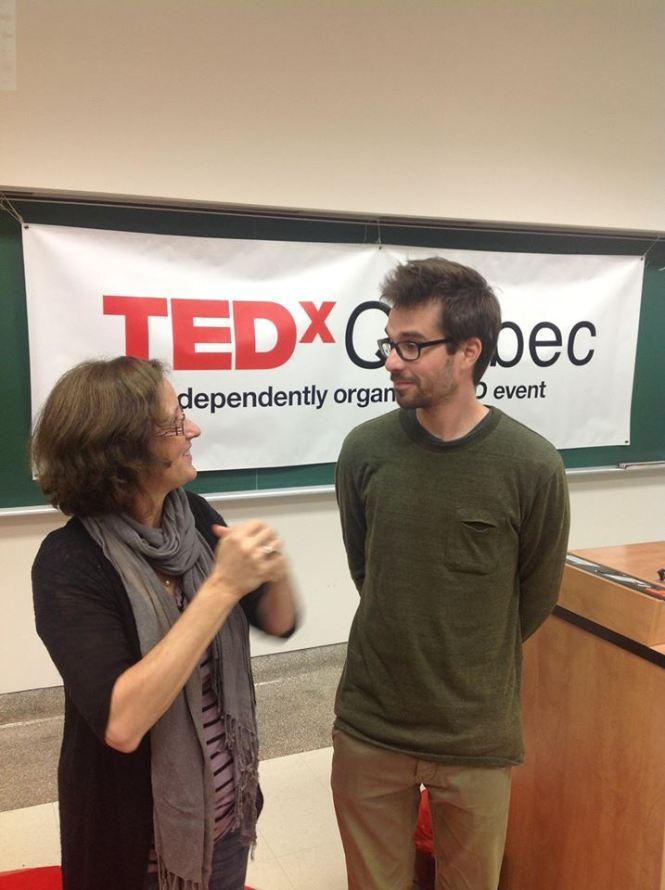 Martin Villeneuve, cinéaste et 1er Québécois invité au TED en californie
