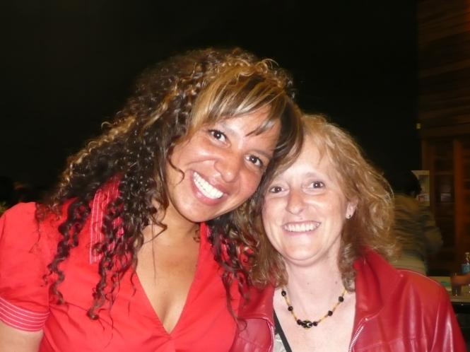 Geneviève Young (Dreamclass) et Lynne Pion en 2013