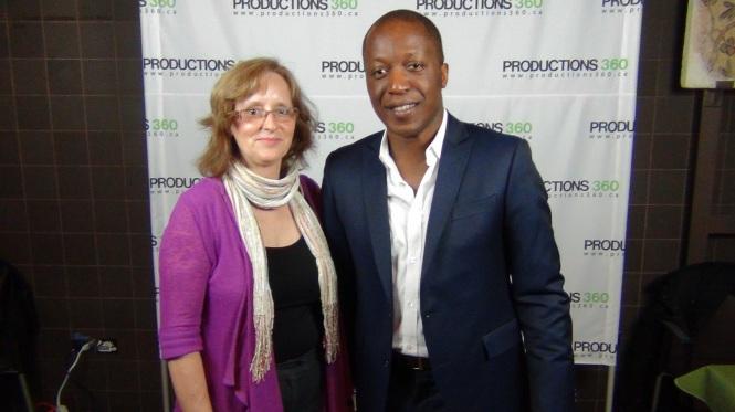 Herby Moreau et Lynne Pion en 2013