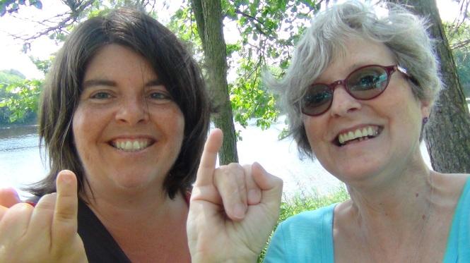 Josée Mercier, Lynne Pion été 2016.JPG