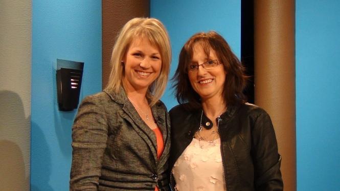 Karina Lehoux et Lynne Pion Télémag Québec 20-02-2014