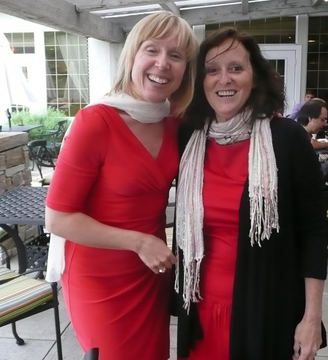 Marie-Hélène Risi et Lynne Pion