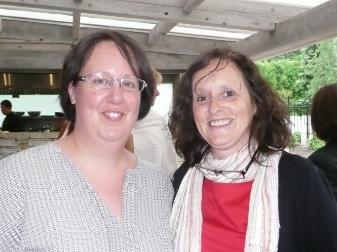 Stéphanie Hétu et Lynne Pion