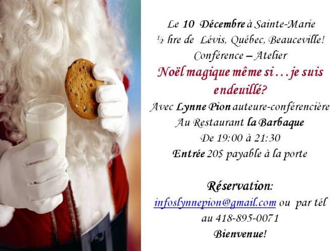 Invitation 10 décembre conférence ste marie