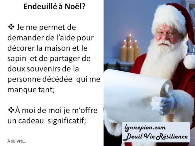 Citation endeuillé à Noël 1ere partie