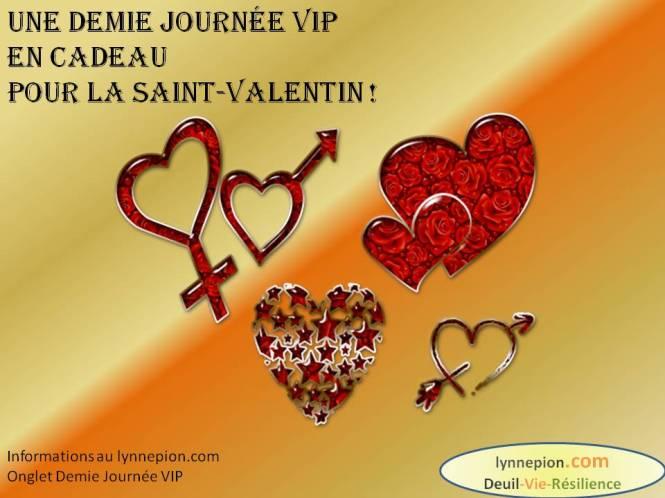 citation cadeau st valentin demie journée VIP Lynne Pion