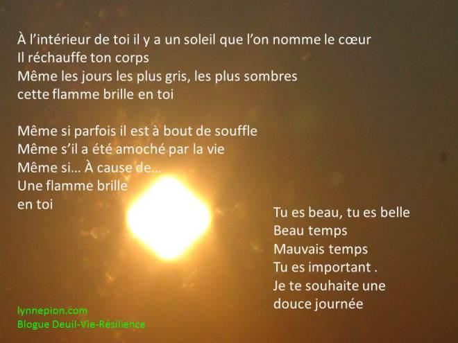 citation coeur soleil