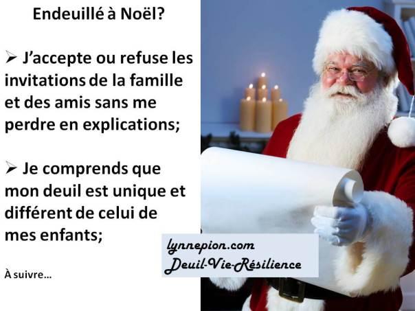 Citation endeuillé à Noël 2
