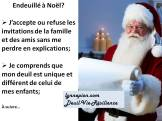 Citation endeuillé à Noël 2