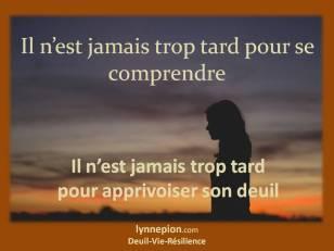 citation se comprendre Lynne Pion Deuil-Vie-Résilience