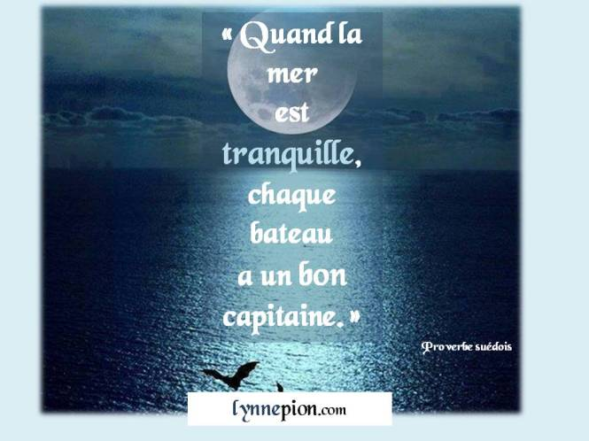 Citations mer tranquille Lynne Pion 2016