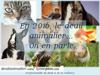 Citations deuil animalier on en parle Lynne Pion 2016