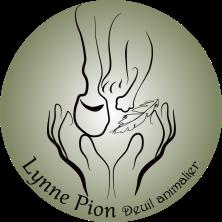 Deuil Animalier Logo Lynne Pion cercle vert