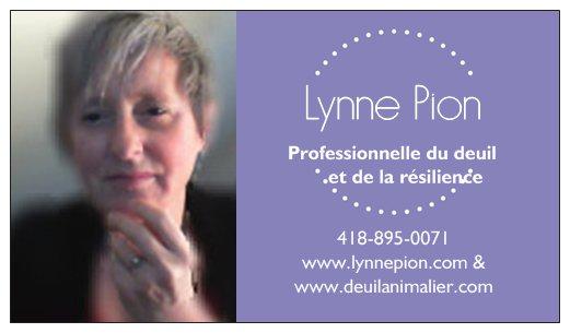 Lynne Pion carte affaire rectp